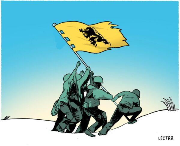 Lectrr bij column van Marc Reynebeau 'Vlaanderen begint een cultuuroorlog' in De Standaard (02/10/19)